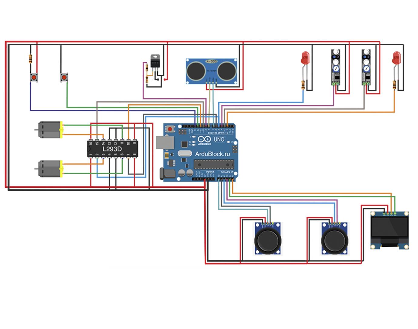SchemBlock Простой генератор схем Arduino